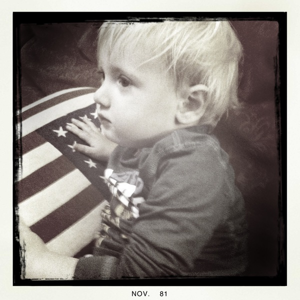 Fletcher of the day: feverish on the couch