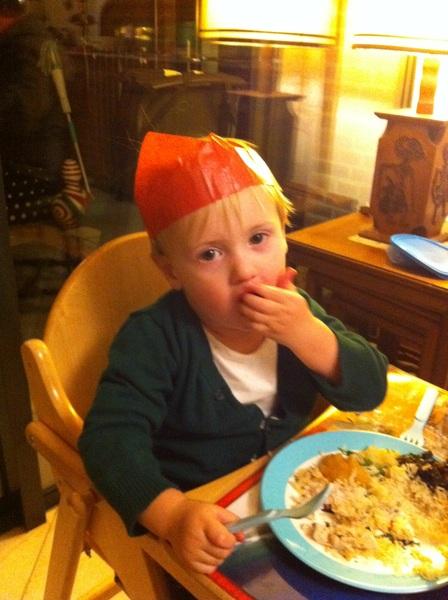 Fletcher of the day: Christmas dinner