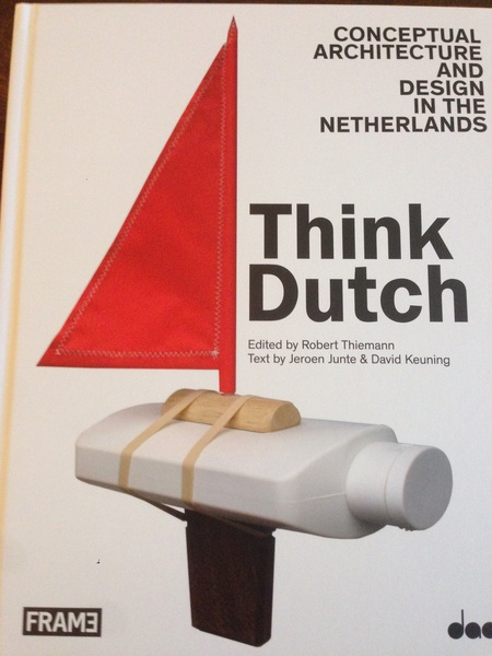 Our garden house is featured (2 pages!) in this book on Dutch Design!