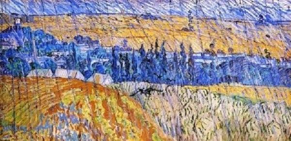 <비.깜.이.1탄> 정답은 Vincent Van Gogh(빈센트 반 고흐)의 Rain at Auvers (비오는 오베르의 풍경) 입니다. Yeonji Park님 띵!똥!ㅎㅎ커피 보내드리겠슴당~ εïз