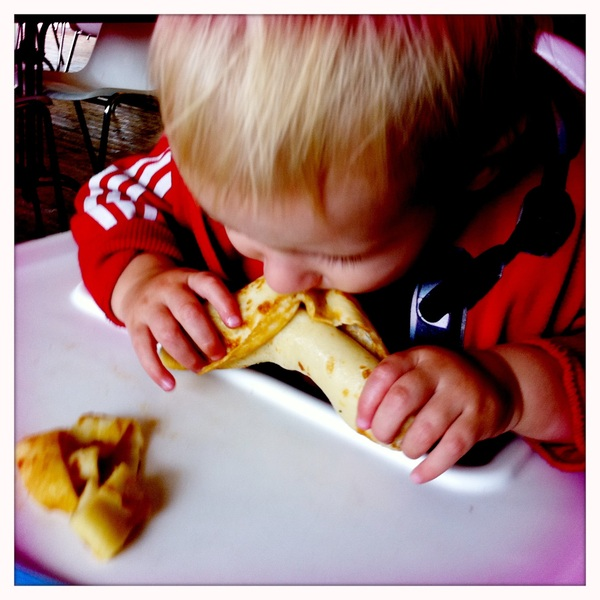 Fletcher of the day: pancake