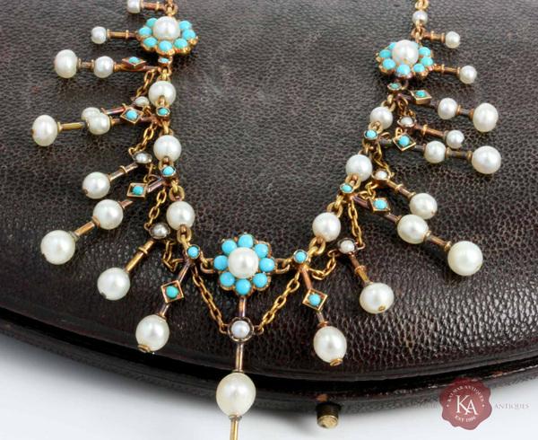 Kalmar Antiques | Antique Necklace