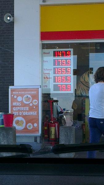 Is dit duur? #tanken