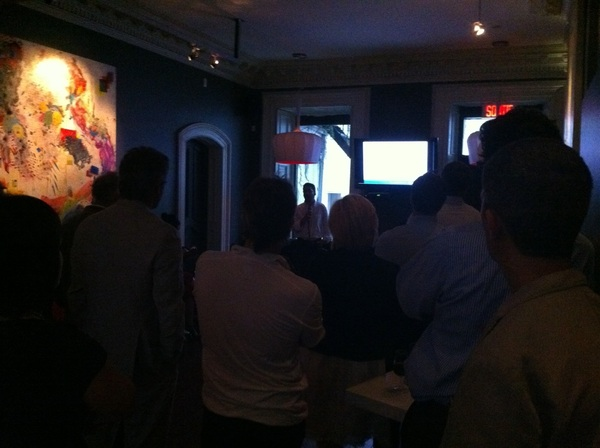 Great turn out for Montreal's first content strategy meet up #soldout #contenuMTL