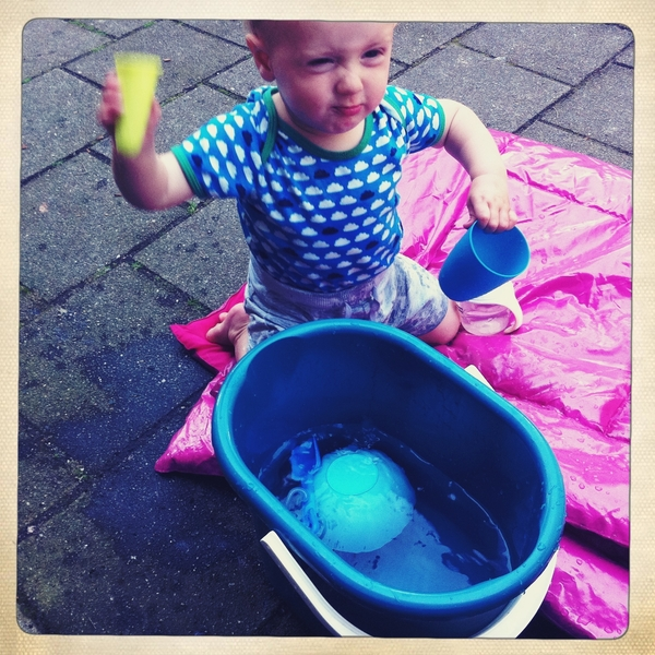 Fletcher of the day: playing with water