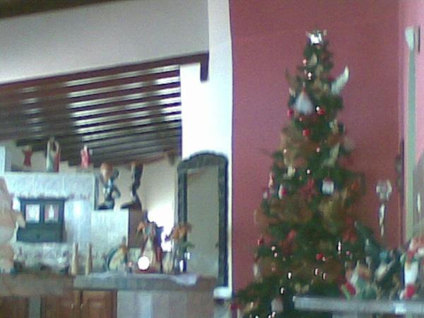 En mi casa está llegando la navidad jo jo jo!