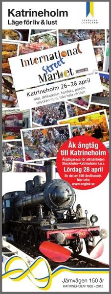 Internationell marknad 26-28 april i Katrineholm