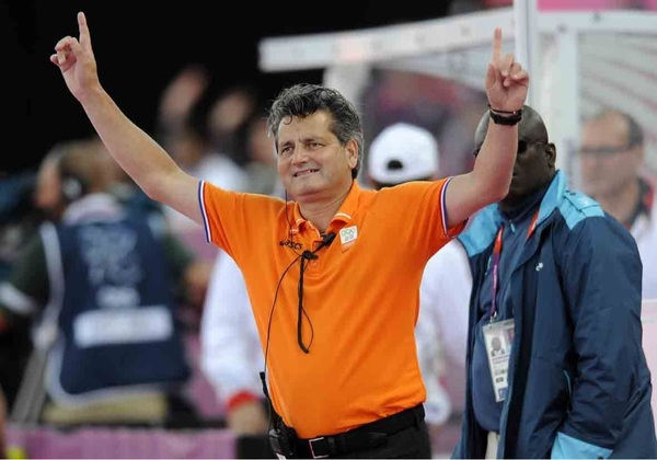 Terechte blijdschap bij Paul na het bereiken van de halve finales! #ziningoud