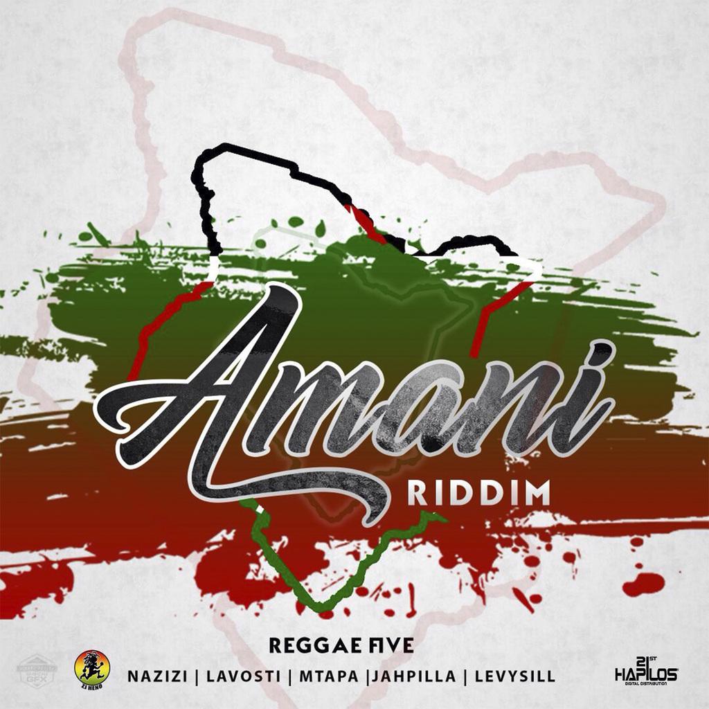 VARIOUS ARTISTS - AMANI RIDDIM #ITUNES 8/25/17 @zjheno