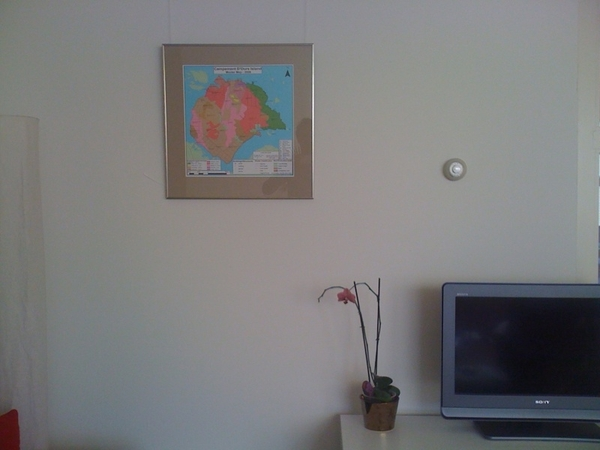 Campe d'ours map on the wall. #blockhousetrip