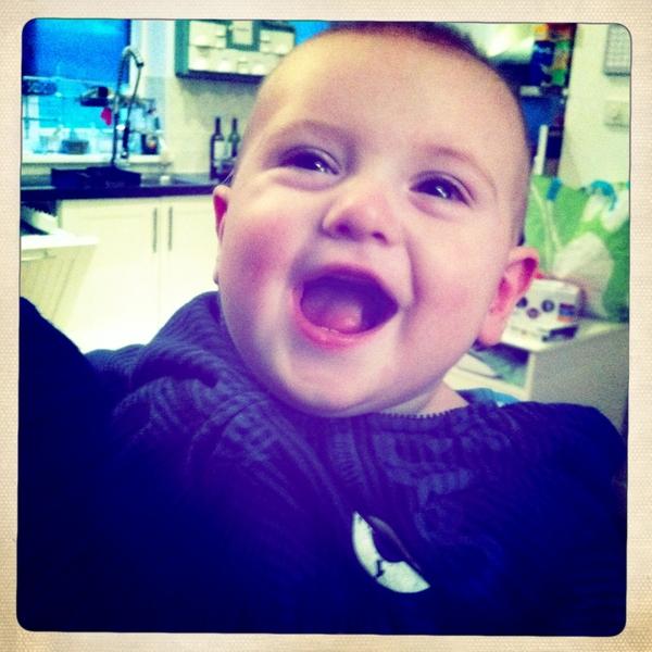 Fletcher if the day: happy boy!
