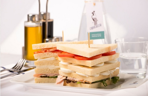 Our delicious Club Sandwich