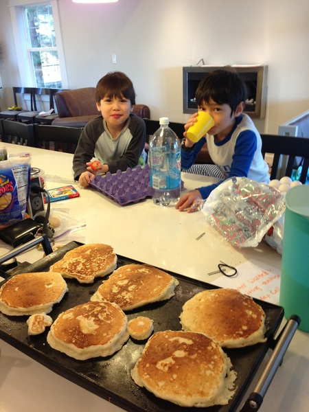 """Requests for Saturday morning hot cakes in the """"tiny"""" size are annoying yet unrelenting."""