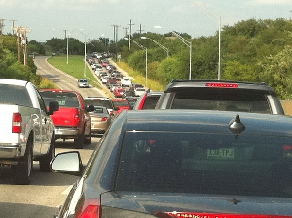 ....obviously I did not choose the road less traveled...yucko traffic : /