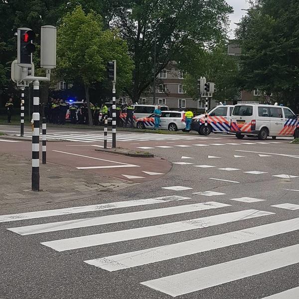Live aanhouding is Schiedam, zo maak je nog eens wat mee. #rtvrijnmond