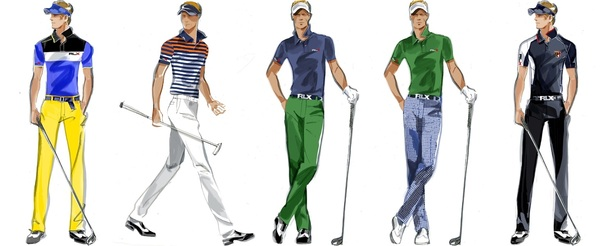 My 2013 Masters outfits - Wednesday to Sunday from @RalphLauren #RLXSwag #keepGettingBetter