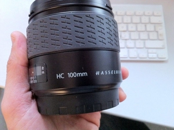 Yes it's nerdy, but I've wanted this #Hasselblad lens for ages. Now it's mine!