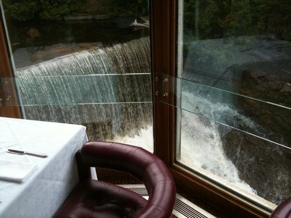 Nice view, nice wine & dining at Millcroft Inn & Spa.