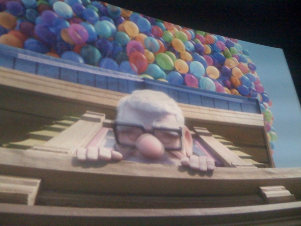 Watched another movie in my favourite genre: Up