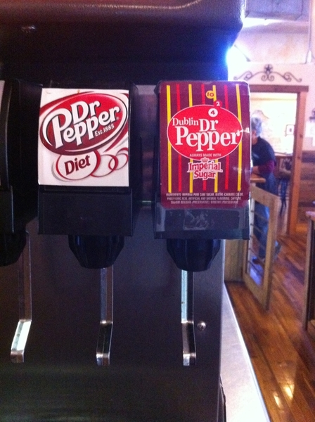 @drpepper Dublin on tap @Whitehorsestation in Clifton, Texas!! Delicious!