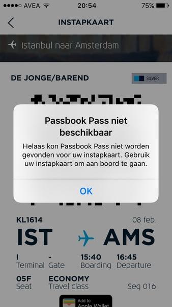 @JsprMtrs @KLM Ik heb hetzelfde probleem.. Hoop dat de boardingpass in de app ook offline beschikbaar is?