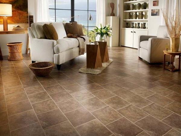 Repairing ceramic tile floor