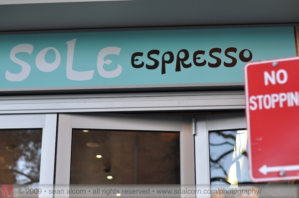 Headed to Mecca today but just missed them! Continued down to Sole Espresso and we were NOT disappointed! :-)
