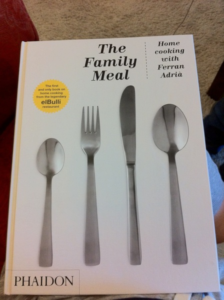 My new cookbook has arrived!