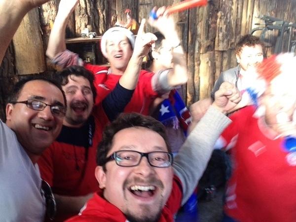 #ChileVSespaña #ElSueñodeTodos #VamosChileMierda #LaRoja #Brasil2014