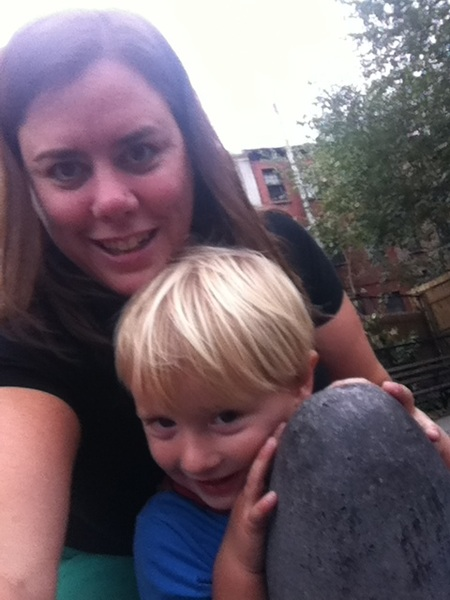 Fletcher of the day: At the playground with mama