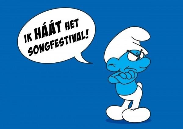 Weer niet de finale gehaald, gek hè #songfestival