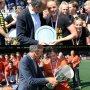Captains Oranje pakken beiden de landstitel. Gefeliciteerd @maartjepaumen en @robertvanderhorst #medalmonday