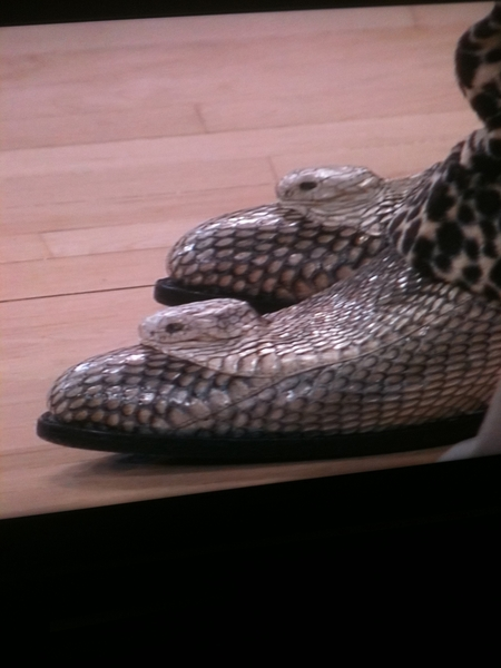 Boots are python #waltfrazier