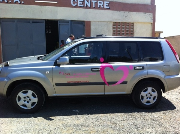And this is the result .... Our branded #ICare car woehoe!!!