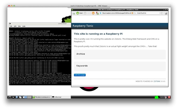 Cool! I've got the blog-site running on @zotonic (the #Erlang web framework) on a @Raspberry_Pi . Pleased as punch :-)