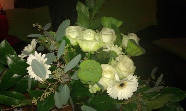 10 jaar in dienst @weeronline: bloemetje!