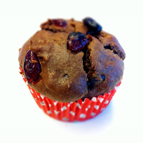 My Chocolate Chunk Cranberry Muffins #cccm (photo credits @royabbink)