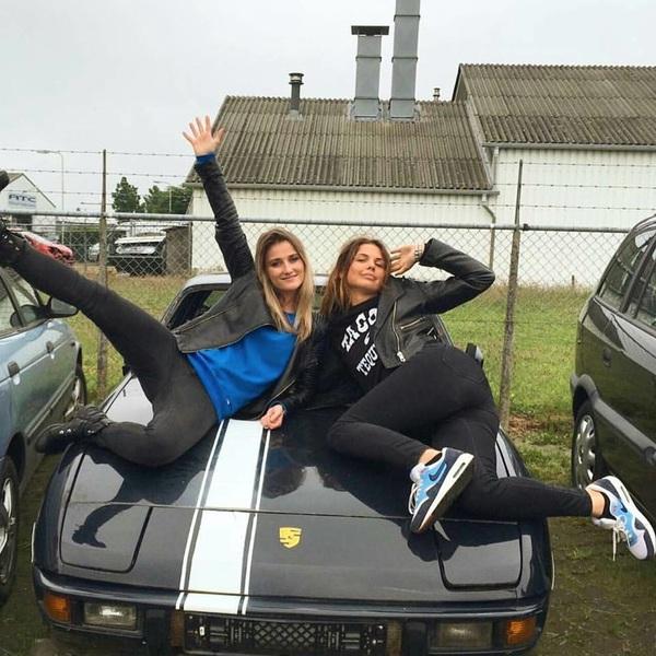 Nieuwe aflevering van @ferzuz_nl! @femkesophia gaat blind autorijden! #ferzuz #inparkeren