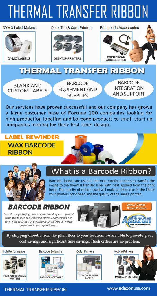 Barcode Ribbon - https://t.co/1KtEsZdtKi