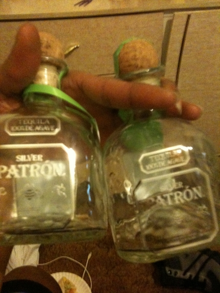 RT @clayhillman @LRGee47 haha! Patrontime!!--yessir! Patron gone! lol