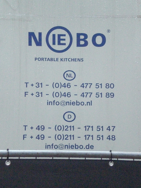 Palazzo Amsterdam: Portable kitchens Niebo voor heerlijke gerechten