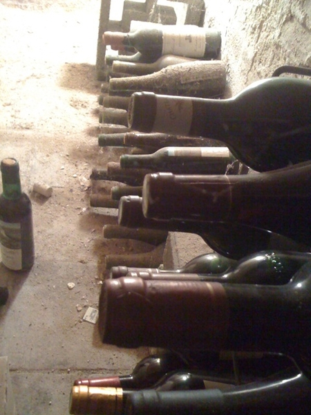Nog eentje dan uit de wijnkelder van zijn vader