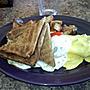 Veggie omelette win