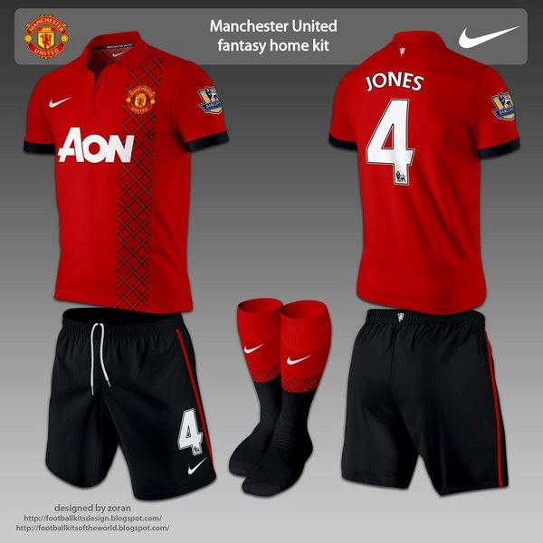 Keren nih kalo jersey Manchester United musim depan kaya gini :D