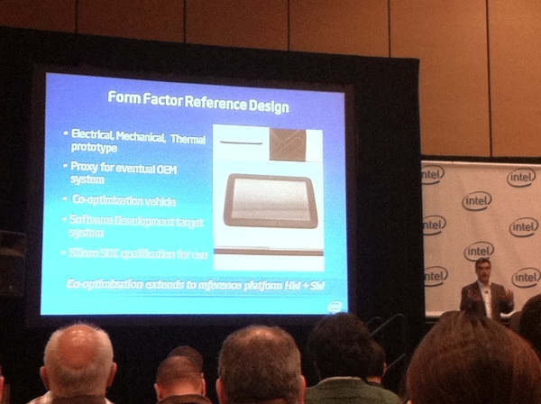 Tablet Reference Design for future Medfield Atom SoC from Intel's Steve Smith #IDF2011