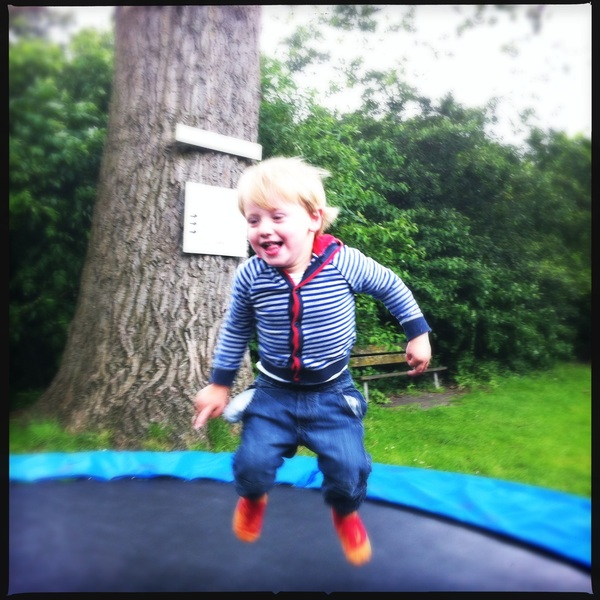 Fletcher of the day: jump!