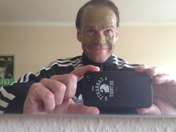 Samstag=Gesichtsmaske!:-)