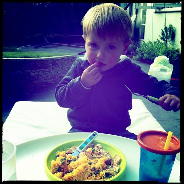 Fletcher of the day: Dinner