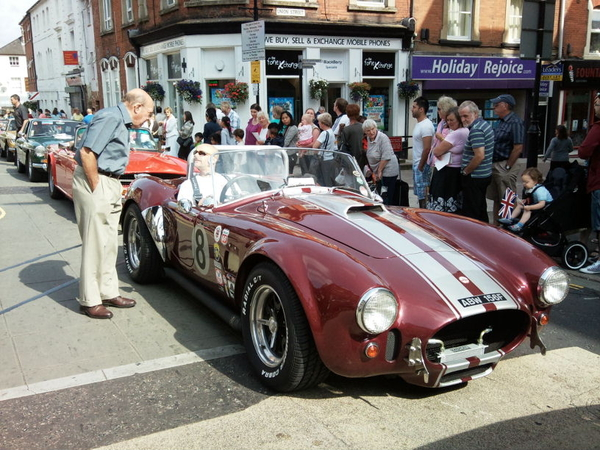 At Victoria day in Aldershot, nice Alfa replica here...