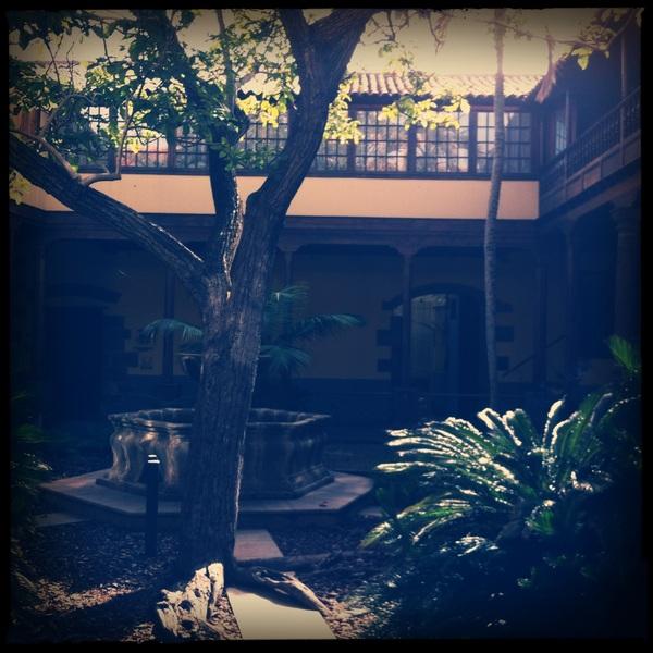 Courtyard in Las Lagunas